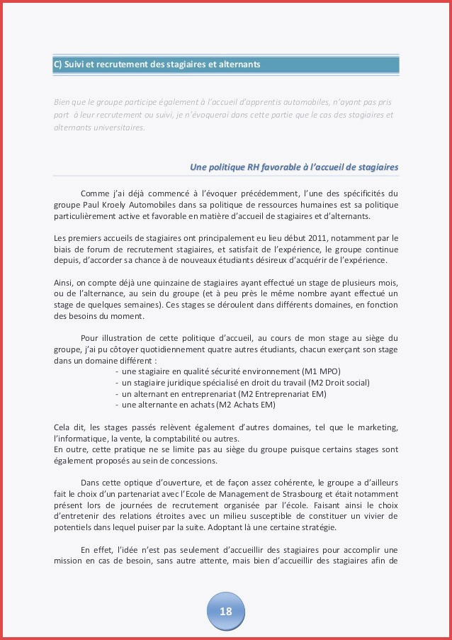 lettre de motivation stage leclerc