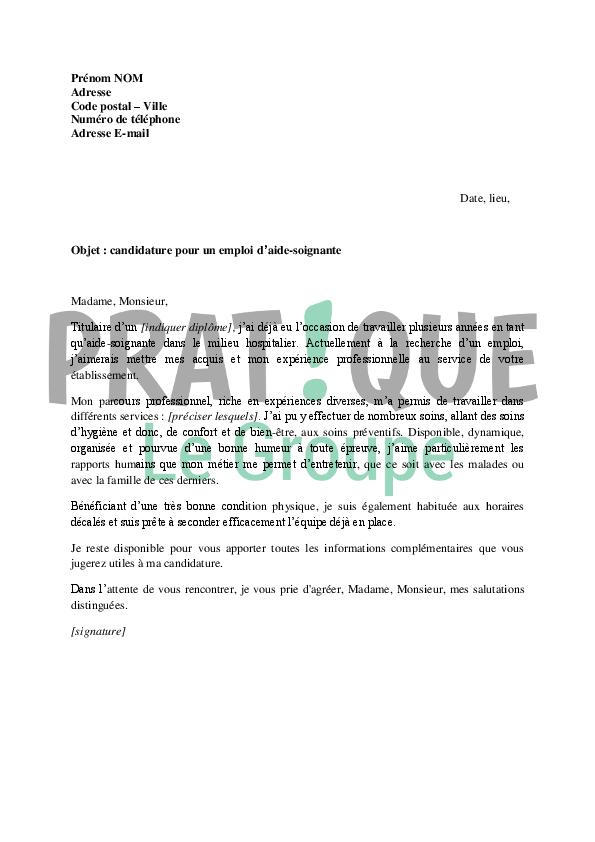 lettre de motivation pour forum emploi