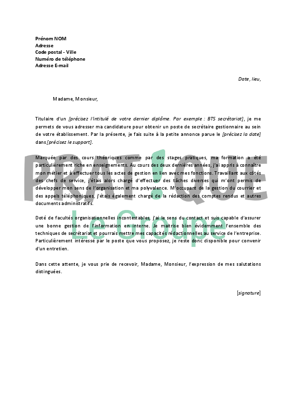 lettre de motivation bricomarch u00e9 debutant