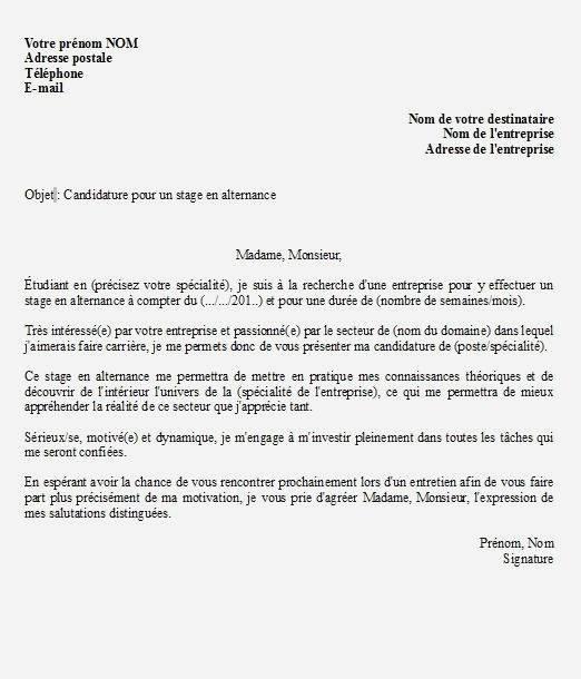 lettre de motivation alternance educateur sp u00e9cialis u00e9