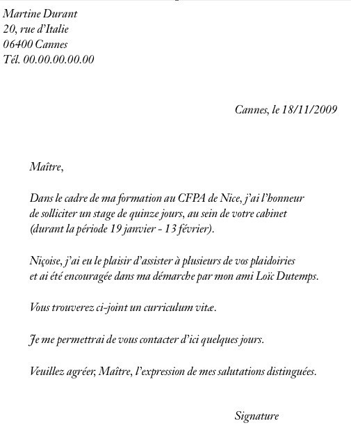 lettre de motivation candidature spontan u00e9e g u00e9n u00e9rale