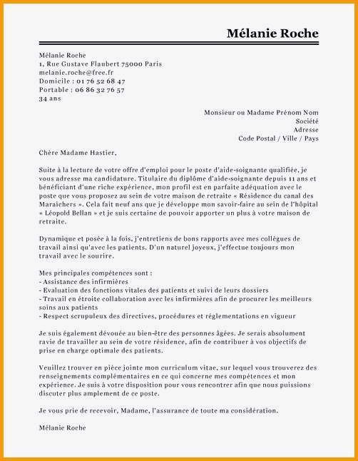 lettre de motivation secteur param u00e9dical    classe