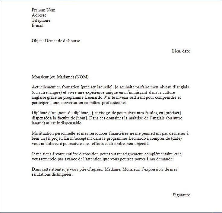 lettre de motivation pour professeur d anglais