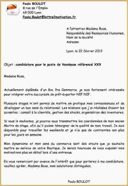 lettre de motivation anglais euro seconde