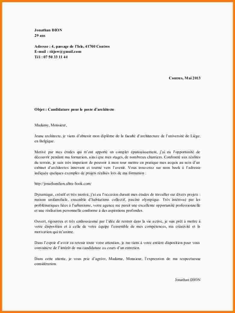 lettre de motivation pour  u00e9quivalence de diplome