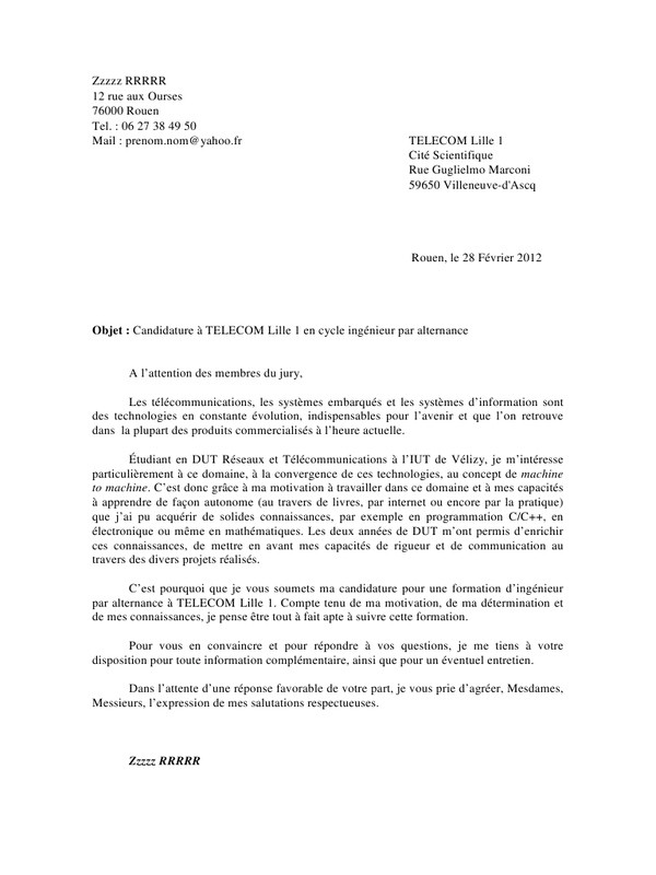 lettre de motivation agent de securite ssiap 1