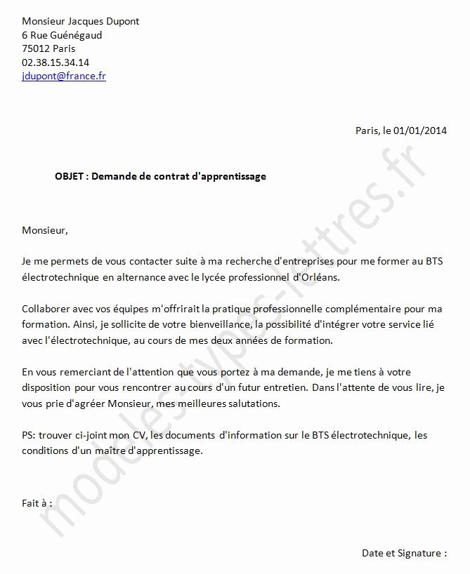 lettre de motivation formation analyste programmeur