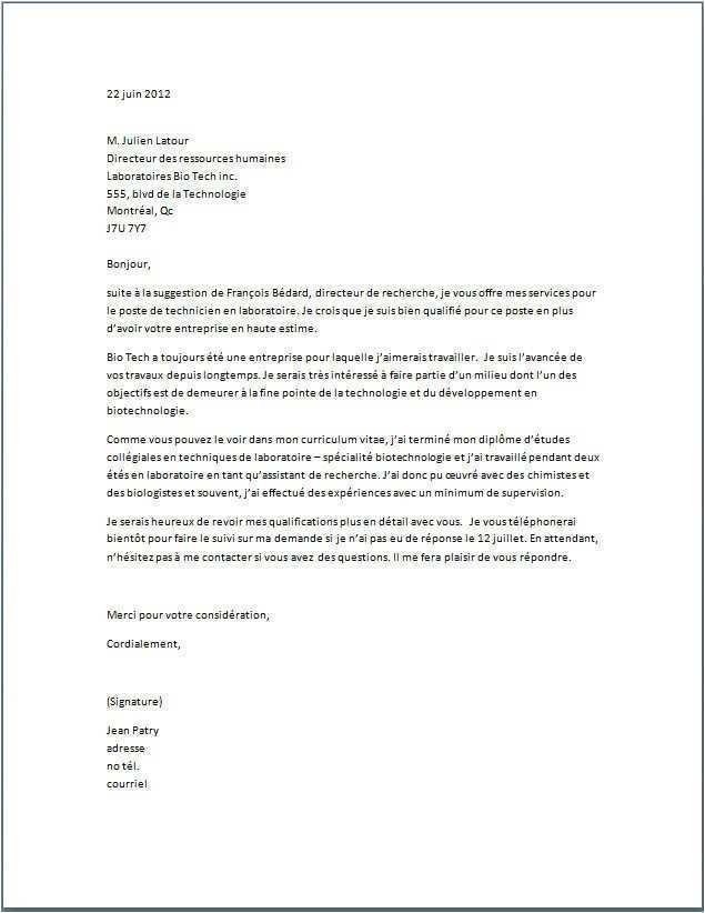 lettre de motivation assistant ressources humaines stage