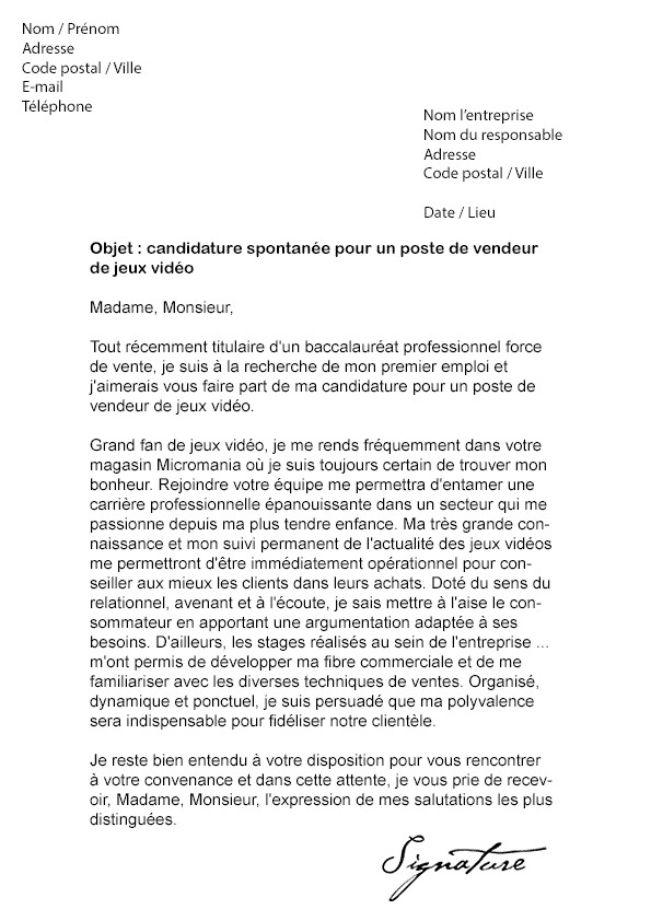 lettre de motivation ecole ingenieur insa