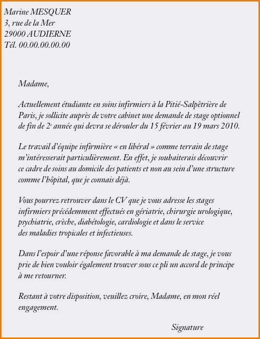 lettre de motivation job  u00e9tudiant intermarch u00e9