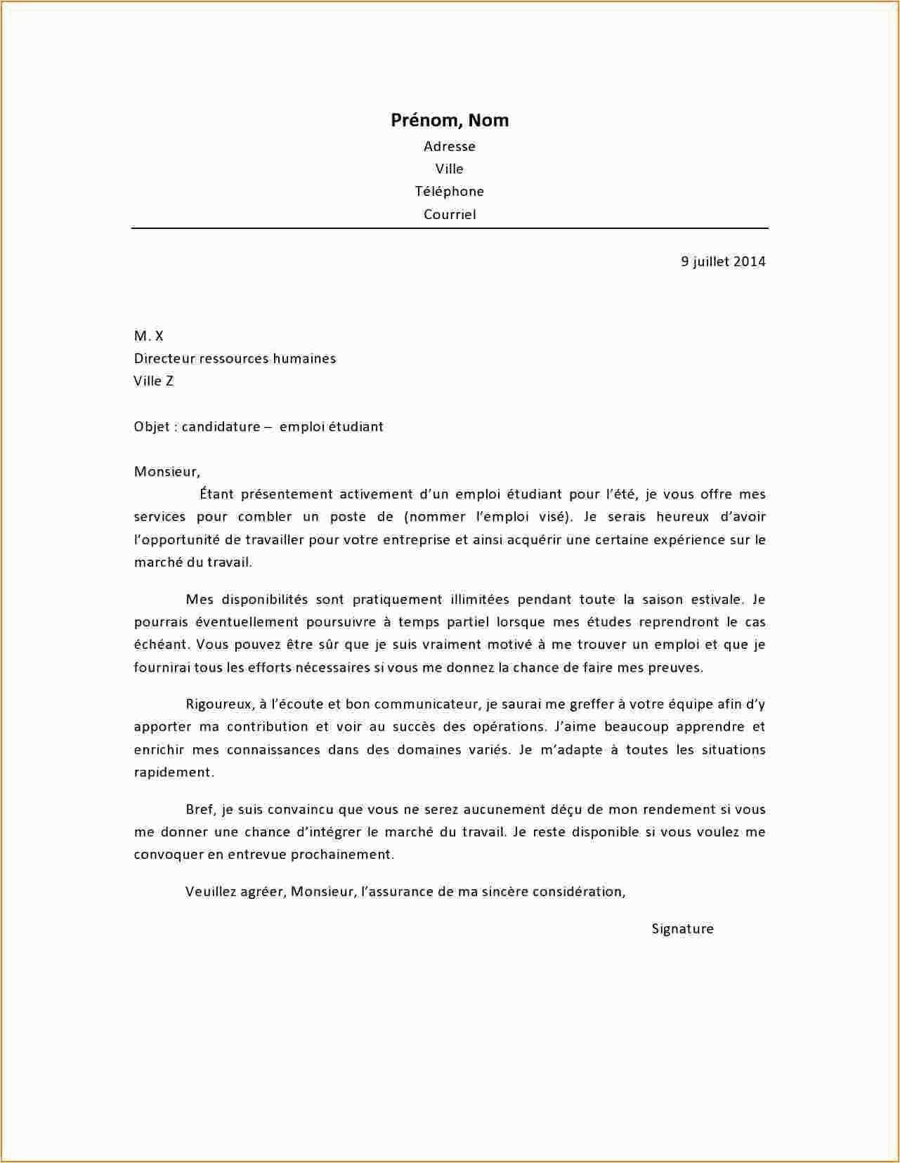 lettre de motivation concepteur vendeur cuisine sans
