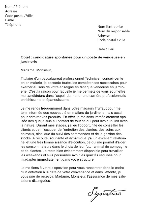 lettre de motivation titulaire d u0026 39 un bts