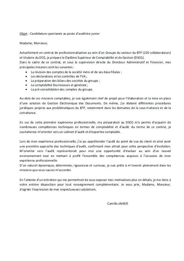 lettre de motivation pour formation comptable gestionnaire
