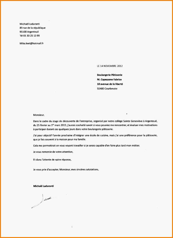 lettre de motivation entree college priv u00e9