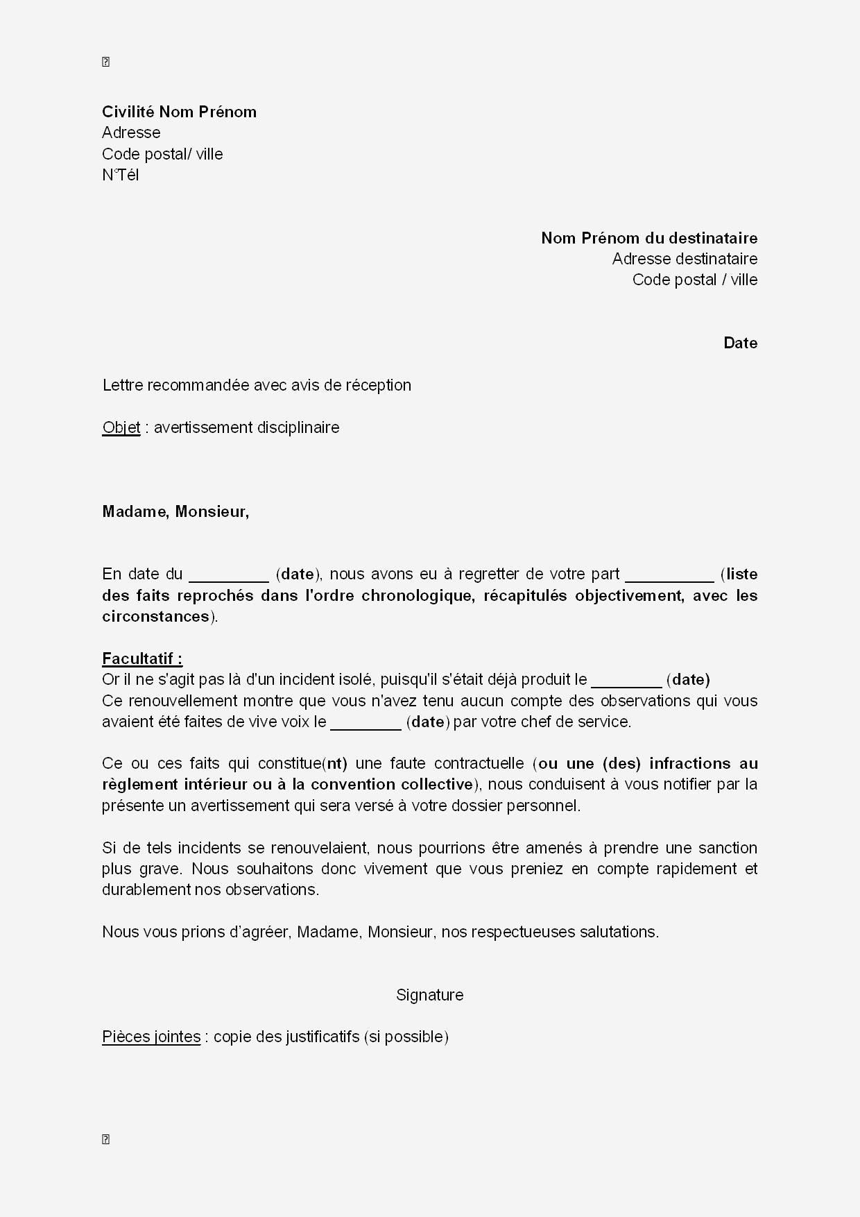 lettre de motivation par piston
