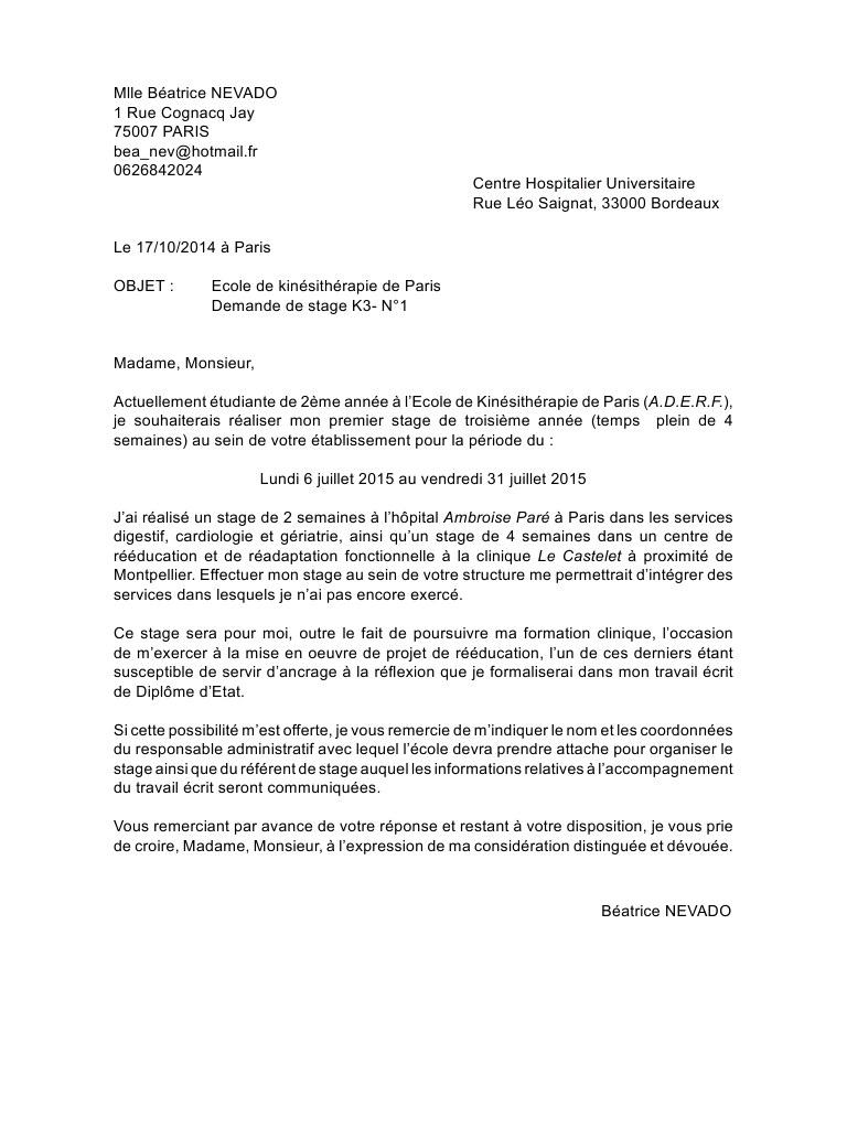 lettre de motivation pour la formation d u0026 39 attach u00e9 de recherche clinique